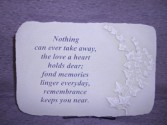 """Fond Memories"" Sympathy Stone Sympathy"