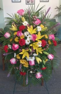 Fondest Farewell Funeral Spray