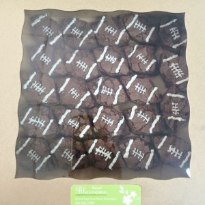 Football Brownies Sweet Blossoms  in Jamestown, NC | Blossoms Florist & Bakery