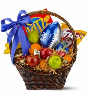 Football fanatic gift basket in melbourne fl suntree florist gifts football fanatic gift basket negle Gallery