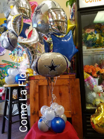 Football Lover BALLOON Bouquet Balloon Bouquet