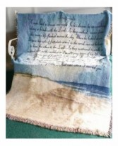 Footprints in the Sand - MWT-14 Sympathy Throw