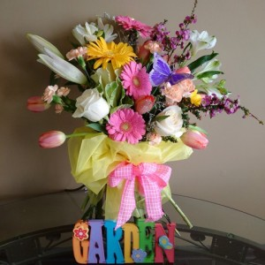 For All You Do Garden Bouquet Customized Just for You in Sudbury, ON | BELLA FLORA