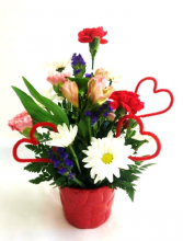 For My Sweetheart Floral Arrangement