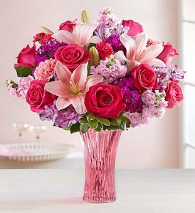 For My Sweetheart Fragrant Roses, Lilies, Matthiola and More...