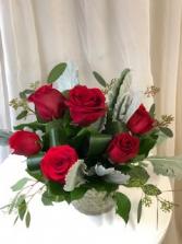 For my Sweetie  Rose Vase Arrangement