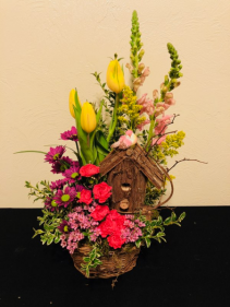 For the Birds Keepsake Arrangement