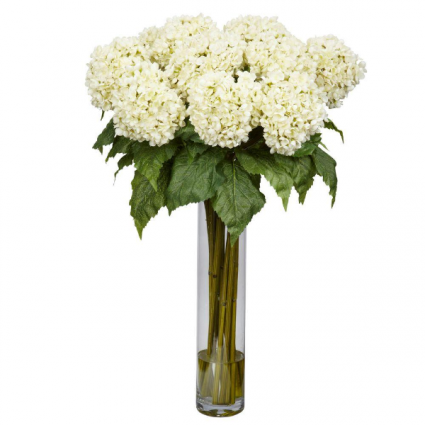 For The Love Of Hydrangeas Bouquet Of Flowers In Beech Grove In