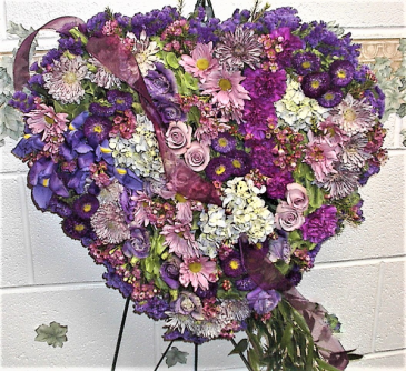 For the love of lavendars funeral arrangement