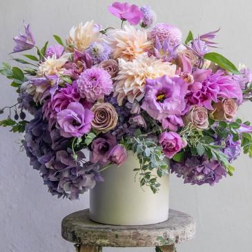 For the Love of Lilac Next Day Delivery