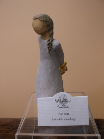 """FOR YOU"" WILLOW TREE FIGURINE"
