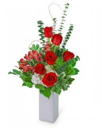 For You, With Love Flower Arrangement