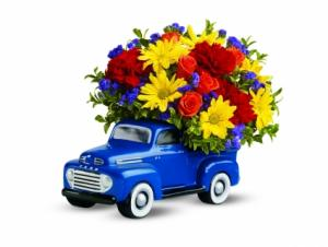Ford Pickup Arrangement  in Universal City, TX | BLOOMINGTONS FLOWER SHOP