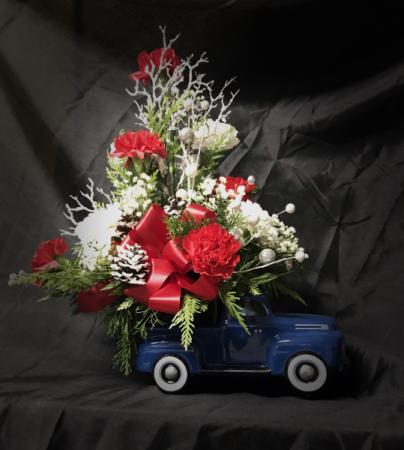 Ford Truck Designer's Choice Christmas Arrangement