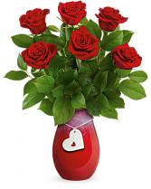 Forever Charming Love Teleflora Vase