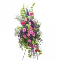 Forever Cherished Easel Spray Fresh Flower Spray