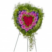 Forever Cherished Heart Wreath