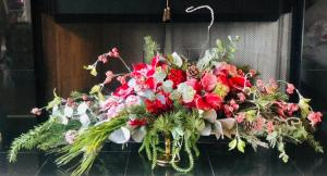 Forever Christmas Centerpiece   in Chalmette, LA | BRITTNEY RAY'S FLORIST
