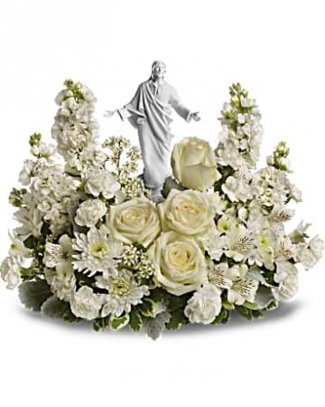 Forever Faithful Bouquet Funeral Bouquet