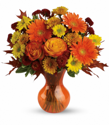 Forever Fall All-Around Floral Arrangement