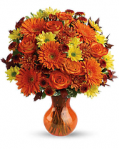 Forever Fall Colors Fall Arrangement