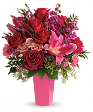 Forever Fuchsia Bouquet Valentines Day