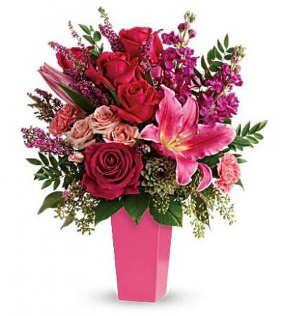 Forever Fuchsia Rose Bouquet