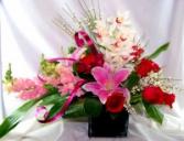 Forever Grateful Vase Arrangement