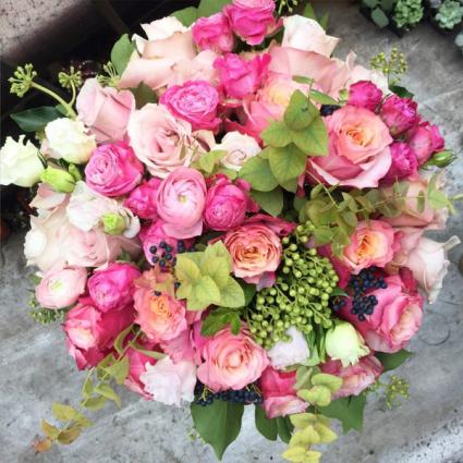 Forever In Love Wedding Bride Bouquet