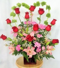 Forever In My Heart Custom Rose Arrangement