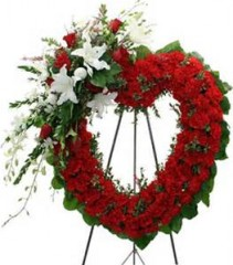 forever in our heart wreath