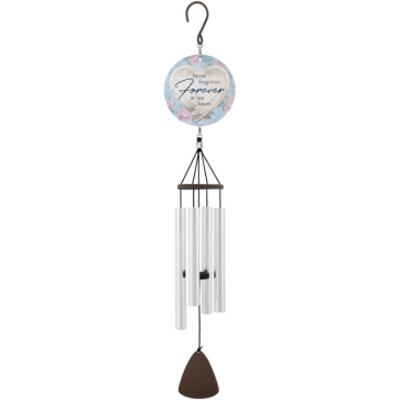 """Forever in Our Hearts 27"""" Wind Chime Gifts"""