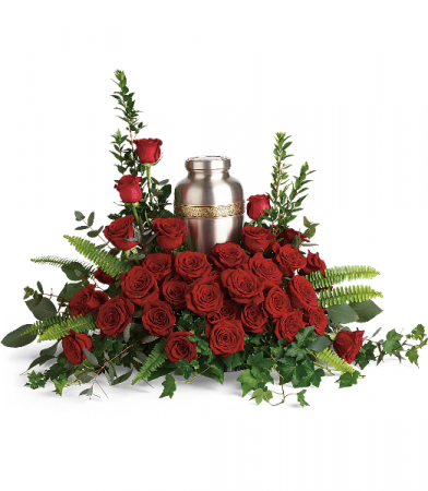 Forever In Our Hearts Cremation Tribute T280-1A  Urn Arrangement