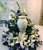 Forever In Our Hearts Urn Arrangement
