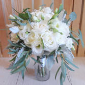 Forever in Whites Hand Tied Bouquet