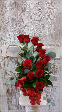 FOREVER LOVE Red Roses Arrangement