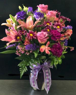Forever Love  Vase Arrangement in Houston, TX | CREATION FLOWERS