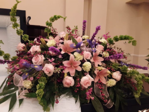 forever Loved Casket Spray in Dothan, AL   Flowers of Hope