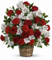 Forever loved fresh arrangement only offered in standard size as shown