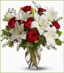 Forever Loved Vase Arrangement
