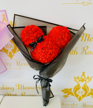 Forever Mickey Mouse Bouquet Red Rose Mickey Bouquet