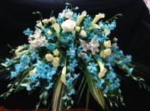 Forever Orchids  Casket Flowers
