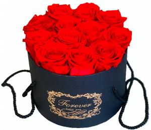 Forever Red Rose Box  in Fort Lauderdale, FL | Flowers Fort Lauderdale by DGM Flowers