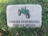 Forever Remembered  Sympathy Keepsake