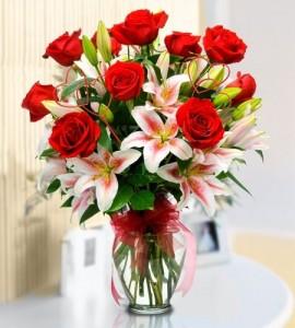 Forever romance bouquet