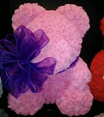 Forever Rose Bears Soap Foam Bears