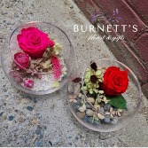 Forever Rose Bowl Dried Bouquet