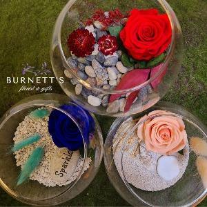 Forever Rose Bowl Dried Bouquet in Kelowna, BC | Burnett's Florist