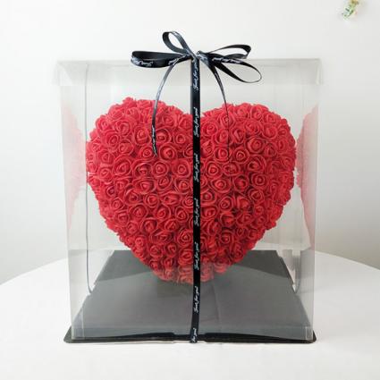 Forever Roses Heart Shape  Forever Rose Heart