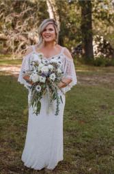 Forever Whites Bridal Bouquet  Wedding